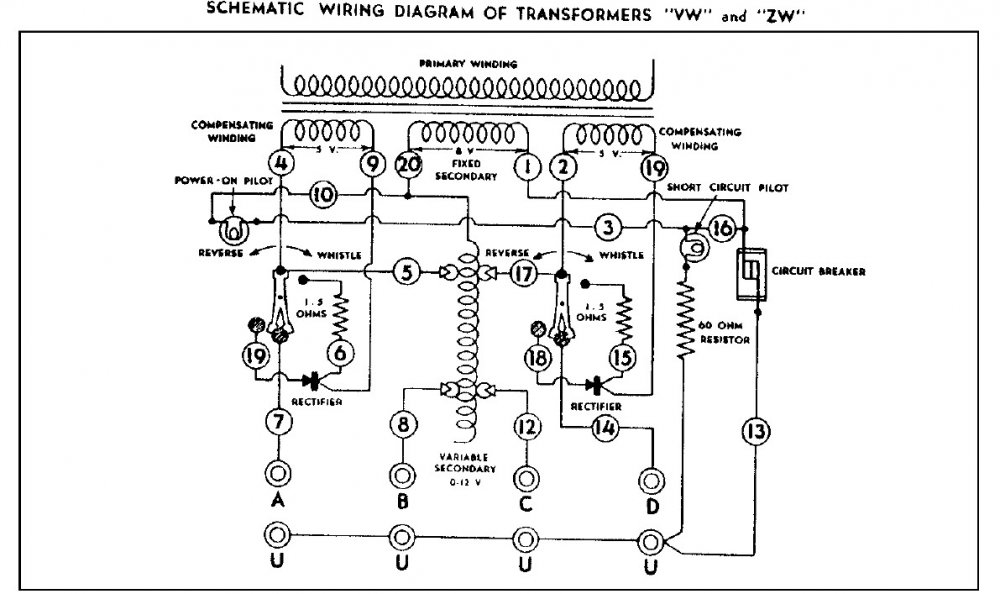 [SCHEMATICS_4JK]  ZW 275 Not working, need some ideas | Model Train Forum | Zw Wiring Diagram |  | Model Train Forum