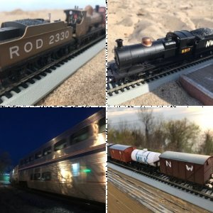 Locomotives and Railroad Cars