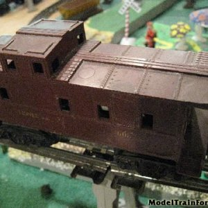 Caboose Brown 6037