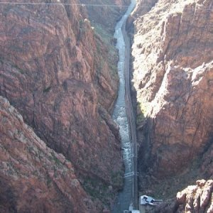Royal Gorge Suspension Bridge.