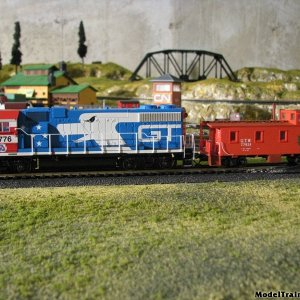 Gtw Loco And Caboose