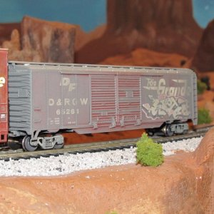 Weathered freight cars 2