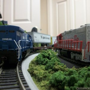 Two Trains Meet