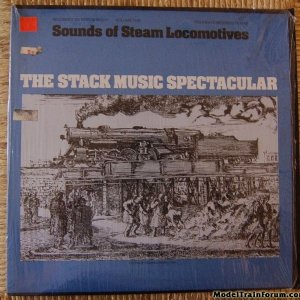 Folkway Steam Locomotive Sounds Record