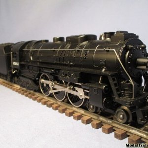 Lionel AT & SF Loco & Tender # 3462