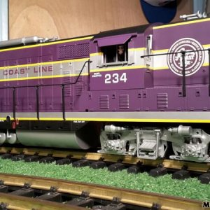 USA Trains GP7 Atlantic Coast Line Rebuild / ISKOT