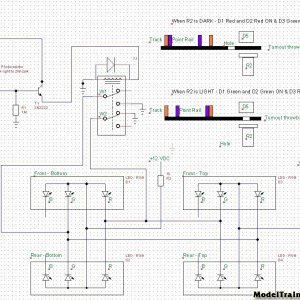 Schematic- Switch Indicator Control