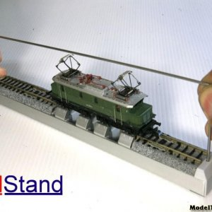 N Scale Roller Test Stand