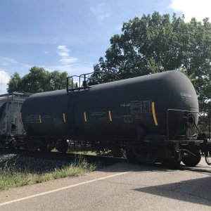 CSX Bottle Tank Car