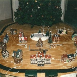 Layout Under Construction Circa December 1993