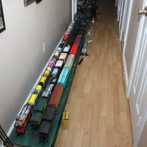 Freights on South Staging Module