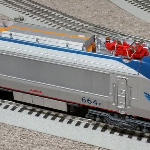 Lionel 6 38402 Amtrak HHP 8